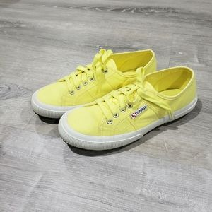 Superga Classic Canvas Sneaker Yellow